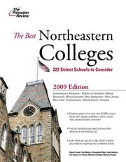 Cover of: Best Northeastern Colleges, 2009 Edition (College Admissions Guides) | Princeton Review