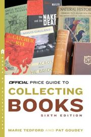 Cover of: The Official Price Guide to Collecting Books, 6th Edition (Official Price Guide to Books)