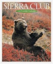 Cover of: Cal 99 Sierra Club Wildlife Calendar