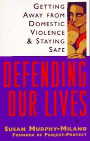 Cover of: Defending our lives
