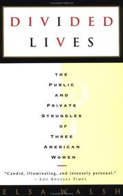 Cover of: Divided lives