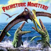 Cover of: Prehistoric Monsters! (Pictureback(R))