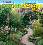 Cover of: Big Book of Garden Designs (Big Book of)