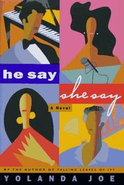 Cover of: He say, she say