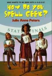 Cover of: How Do You Spell Geek?