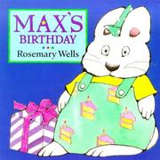 Cover of: Max's Birthday (Max and Ruby)