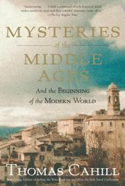 Cover of: Mysteries of the Middle Ages | Thomas Cahill