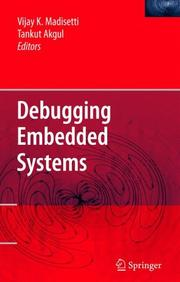 Cover of: Debugging Embedded Systems | Vijay K. Madisetti