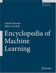 Cover of: Encyclopedia of Machine Learning |