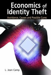 Cover of: Economics of Identity Theft