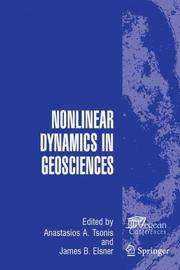 Cover of: Nonlinear Dynamics in Geosciences |