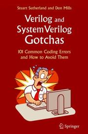 Cover of: Verilog and SystemVerilog Gotchas | Stuart Sutherland