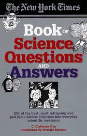 Cover of: The New York Times book of science questions and answers