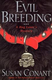 Cover of: Evil breeding | Susan Conant