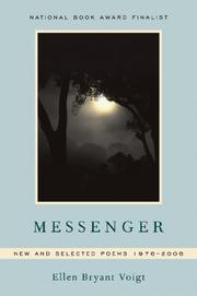 Cover of: Messenger: New and Selected Poems 1976-2006