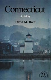 Cover of: Connecticut | David, M. Roth