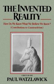 Cover of: Invented Reality