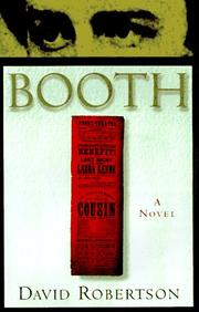 Cover of: Booth | Robertson, David