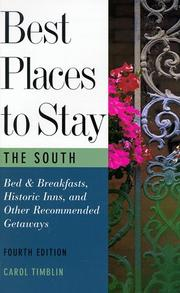 Best Places to Stay in the South