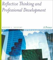 Cover of: Reflective Thinking and Professional Development