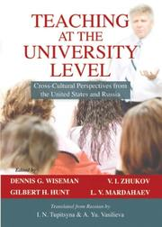Cover of: Teaching at the University Level |