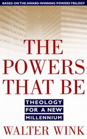 Cover of: The Powers That Be (Power)