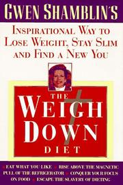 Cover of: The weigh down diet