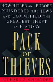 Cover of: Pack of Thieves | Richard Z. Chesnoff