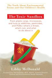 The toxic sandbox by Libby McDonald
