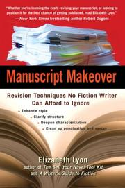 Cover of: Manuscript makeover