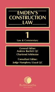 Cover of: Emden's Construction Law