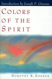 Cover of: Colors of the spirit