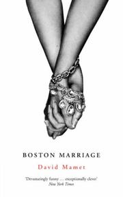 Cover of: Boston Marriage
