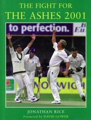 Cover of: The Fight for the Ashes (The Story of the 2001 England-Australia Test Series)