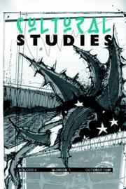 Cover of: Cultural Studies: Volume 10, Issue 3