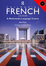 Cover of: COLLOQUIAL FRENCH USER MANUAL