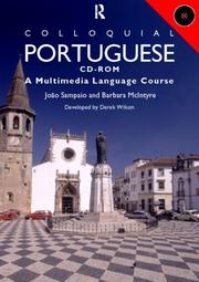 Cover of: COLLOQUIAL PORTUGUESE USER MAN