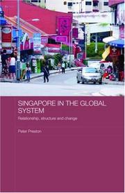 Cover of: Singapore in the Global System