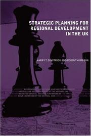Cover of: Strategic Planning for Regional Development |