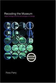 Cover of: Recoding the Museum (Museum Meanings)