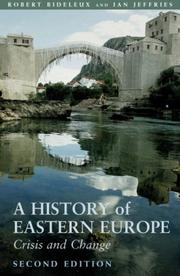 Cover of: A History of Eastern Europe