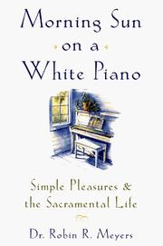 Cover of: Morning Sun on a White Piano