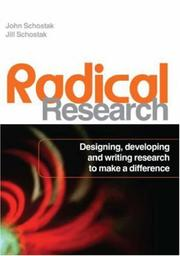 Cover of: Radical Research | Jill Schostak