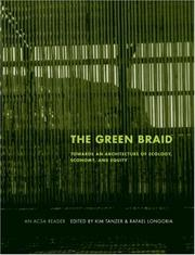 Cover of: The Green Braid (ACSA Architectural Education) |