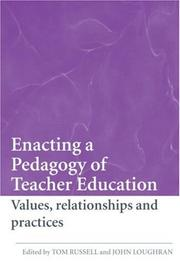 Cover of: Enacting a Pedagogy of Teacher Education | Russell/Loughra