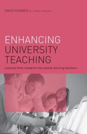 Cover of: Enhancing University Teaching | Kember/McNaught