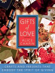 Cover of: Gifts of love | Alice Zillman Chapin