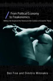 Cover of: From Political Economy to Freakonomics