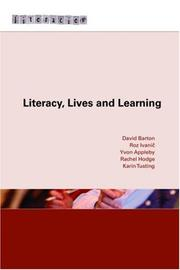 Cover of: Literacy, Lives and Learning