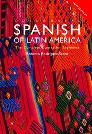 Cover of: Colloquial Spanish of Latin America - Paperback and CD pack (Colloquial Series (Multimedia))